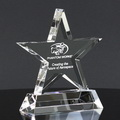 star crystal trophy award