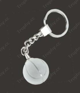 Kristallglas Basketball Schlüsselbund