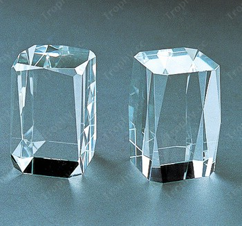 achteckigen Kristallwürfel