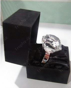 Diamantkristall Serviettenhalter