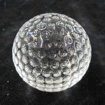 optischen Kristall golfball