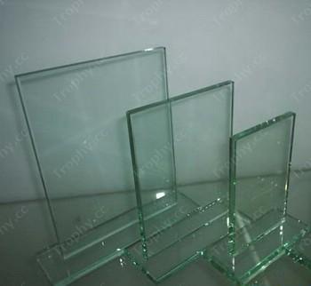 Rechteck Glasrahmen Auszeichnung