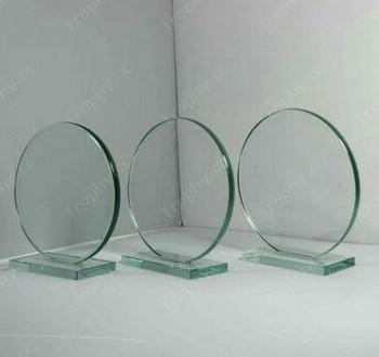 runden Jade Glasrahmen Auszeichnung Plakette