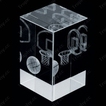 3d laser crystal sports gifts