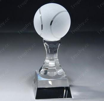 Kristallglas optischen Tennis Auszeichnungen