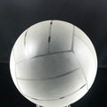 optical crystal glass volleyball